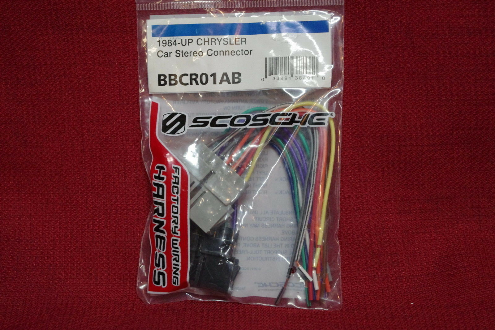 Scosche Car Radio Bbcr01ab For Chrysler Dodge 1984 Up Harness New Automotive Wiring 1 Of 4free Shipping