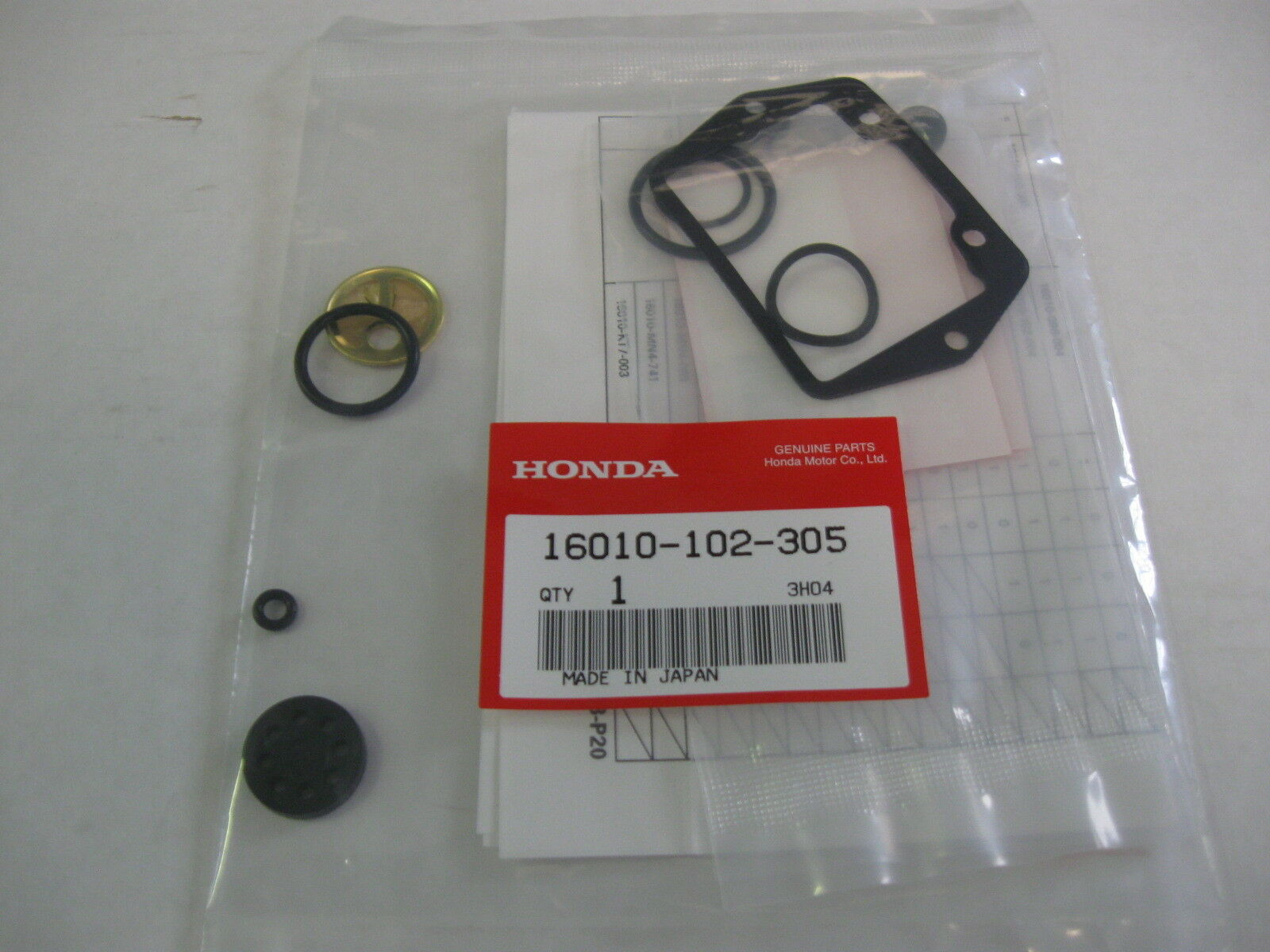 Honda Ct70 Ct70h Carburetor Kit Carb Rebuild Ct90 St90 Atc70 Atc90 1970 Oem 1 Of 3only 4 Available