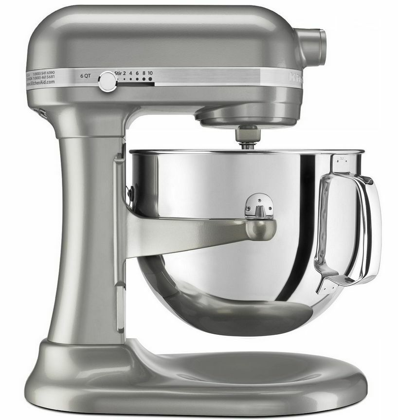 Kitchenaid Rkp26m1xsr Professional 600 Stand Mixer 6 Qt Metal Sugar Pearl Silver 1 Of 2free