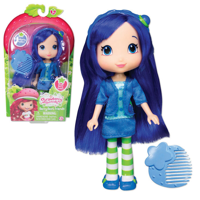Strawberry Shortcake Doll Blueberry Muffin Scented w ...