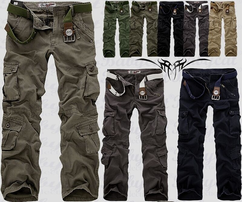 herren milit r l ssig cargo hose pants trousers freizeithose kampfhose neu h16 eur 7 90. Black Bedroom Furniture Sets. Home Design Ideas