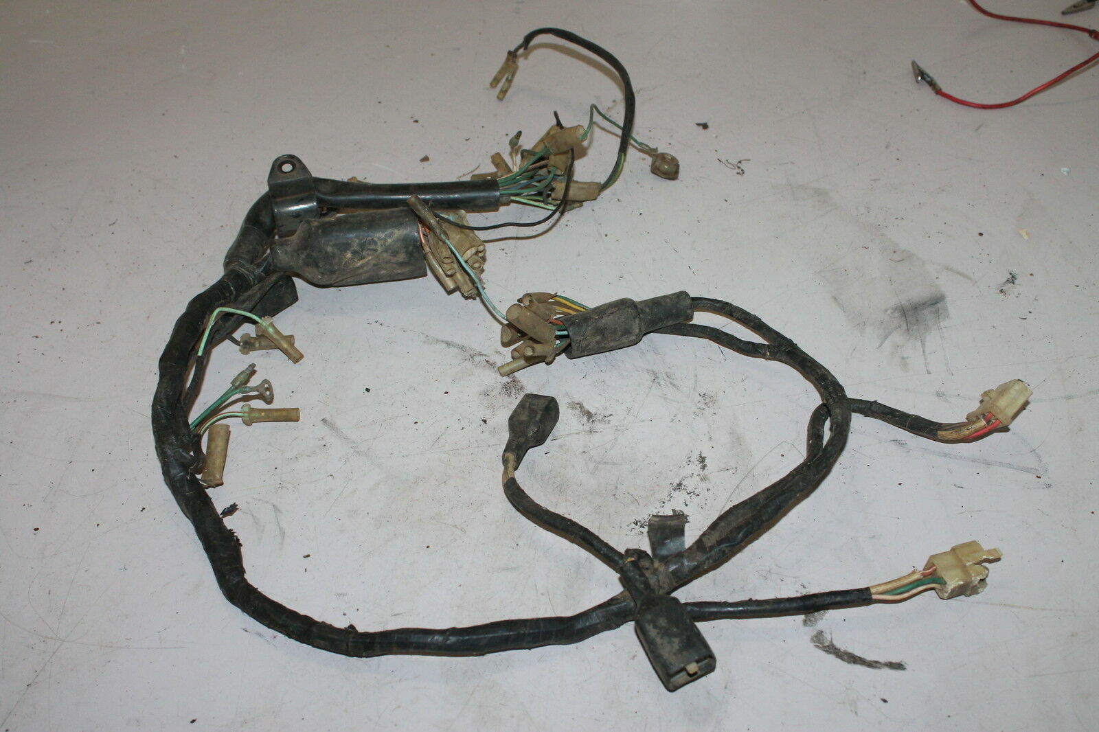 1975 Honda Cb360 Cb 360 Main Engine Wiring Harness Motor Wire Looms 1978 Cb550 1 Of 9only Available