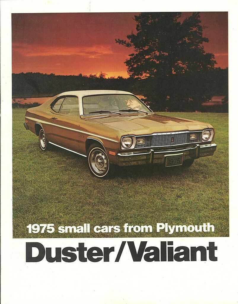 1975 Plymouth Duster/Valiant Brochure Gold Duster/Scamp 1 of 1Only 2  available ...