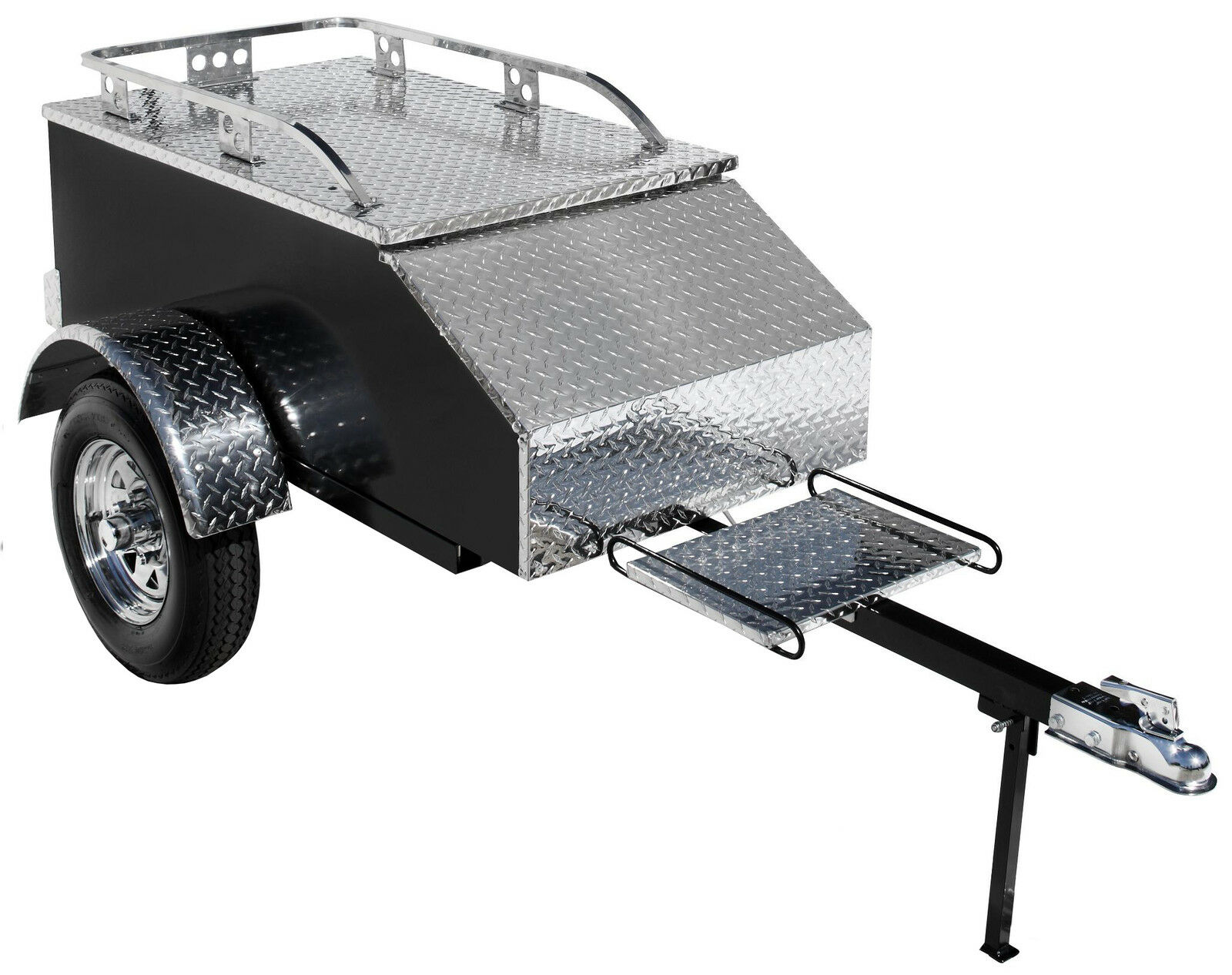 Ebay motorcycle pull behind cargo trailer autos post for Ebay motors car trailers