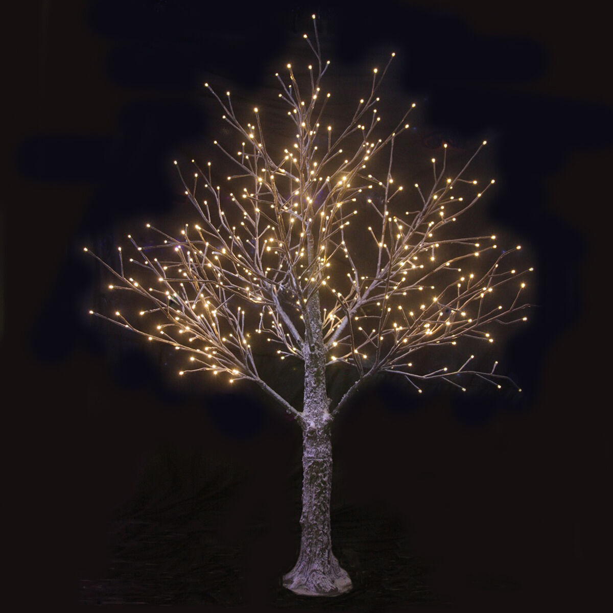 Brown Snowy Twig Tree Warm White LED Lights Christmas Indoor Outdoor Decoration u2022 u00a399.99 ...