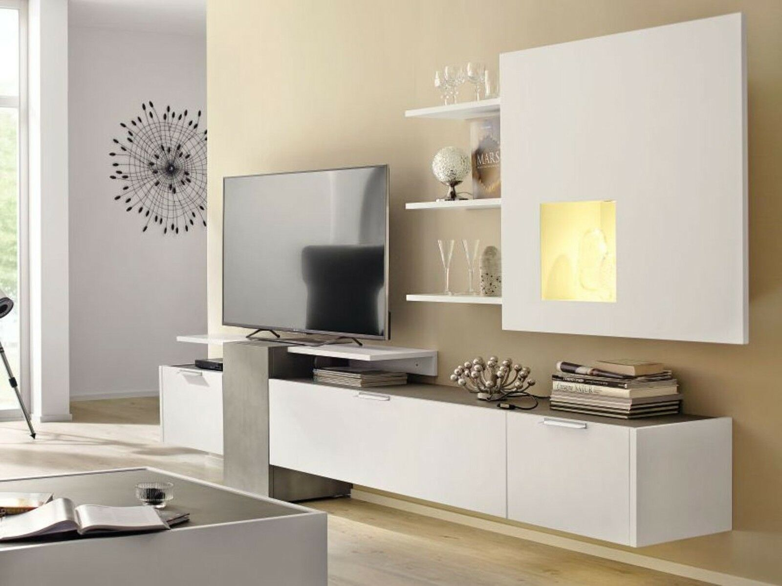 schrankwand wohnzimmer hlsta fabulous schrankwand wohnzimmer hulsta tv selber bauen mit fur. Black Bedroom Furniture Sets. Home Design Ideas