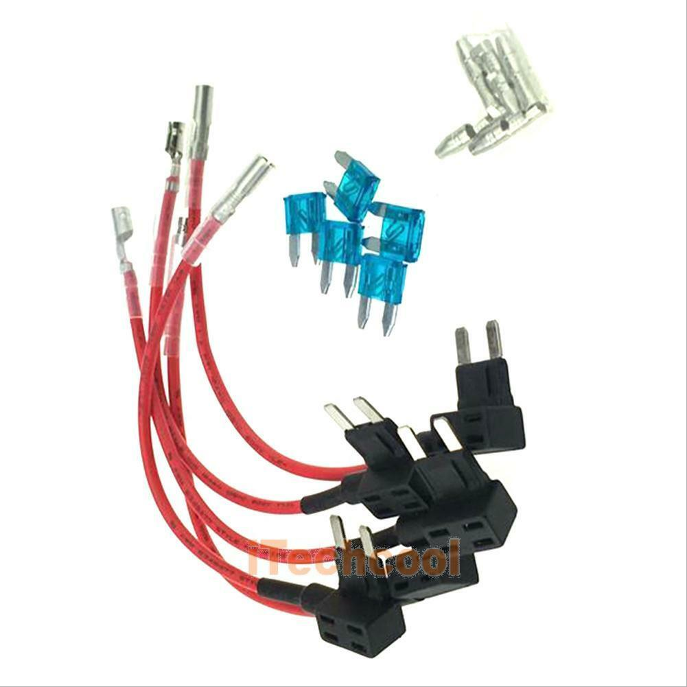 5 x 15A Add Circuit Car Mini Blade add circuit to car fuse box dolgular com add circuit to fuse box at fashall.co