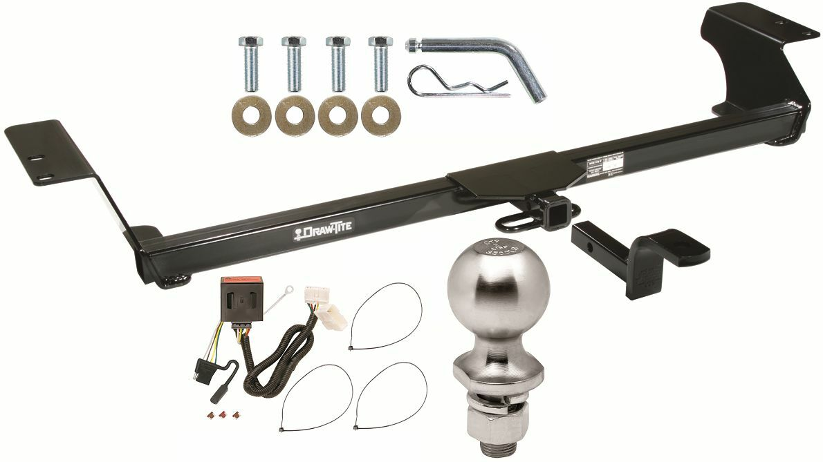 Complete Trailer Hitch Package W Wiring Kit Fits 2011 2016 Honda Pilot 1 Of 1free Shipping