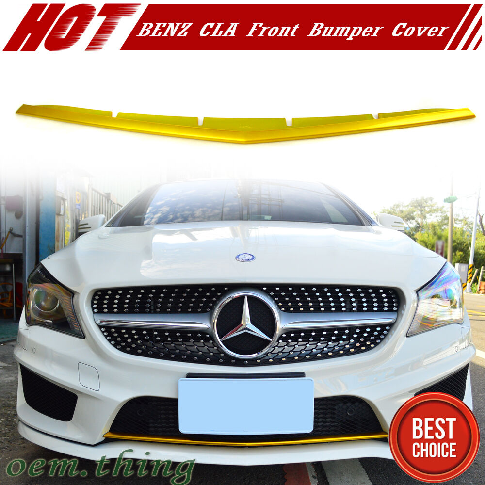 Painted yellow metallic mercedes benz cla45 w117 front for Mercedes benz usa customer service phone number