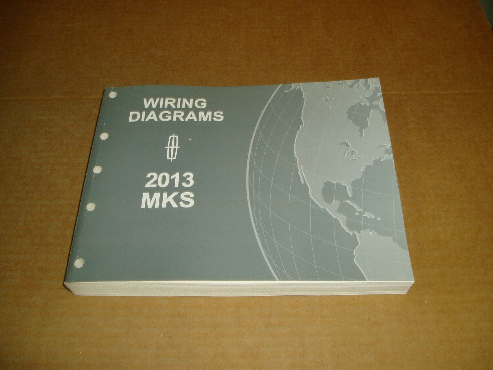 2013 Lincoln Mks Wiring Diagram Service Shop Dealer Repair Manual 2010 Mkz Diagrams 1 Of 4only Available