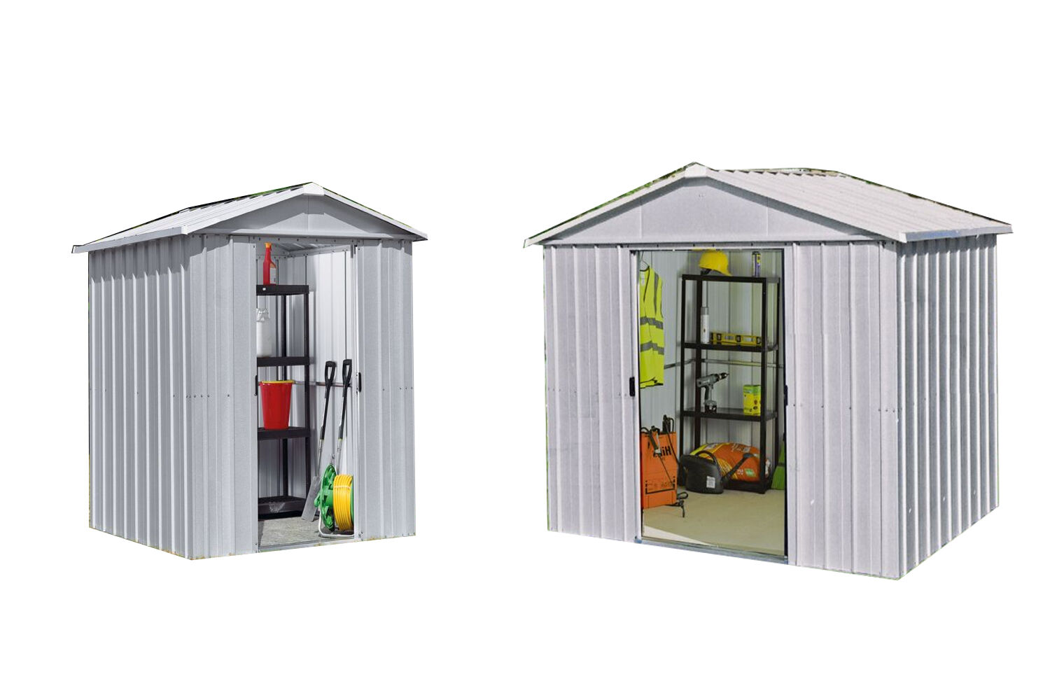 Yardmaster Deluxe Apex Metal Shed