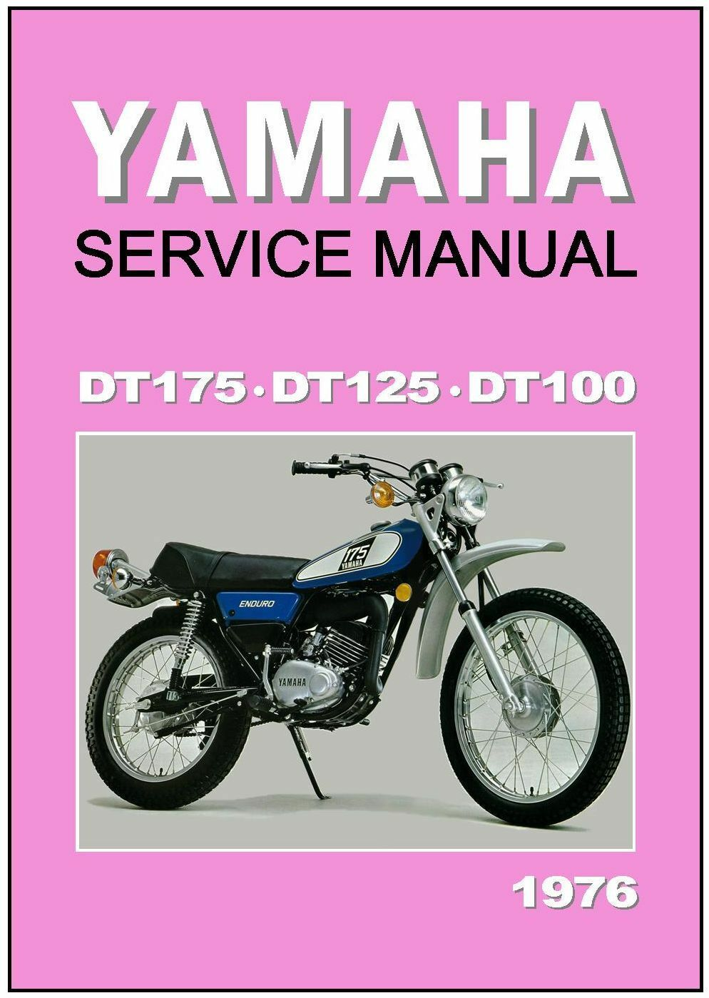 Wiring Diagram 1982 Yamaha Dt 100 Start Building A 78 Workshop Manual Dt175 Dt125 Dt100 1976 Dt175c Dt125c Dt100c Rh Picclick Com 1978 175 Front Rim 125 Body Parts