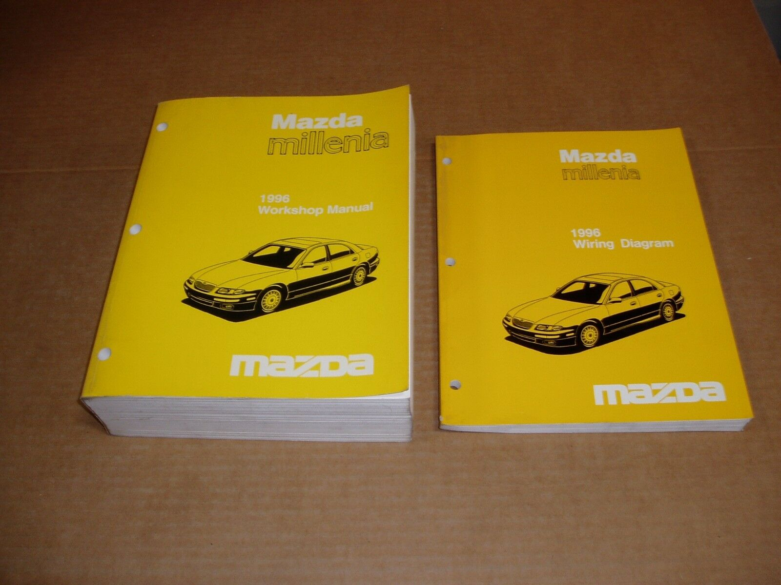 1996 Mazda Millenia Wiring Service Shop Dealer Repair Factory Manual 2000 Diagram 1 Of 5only Available