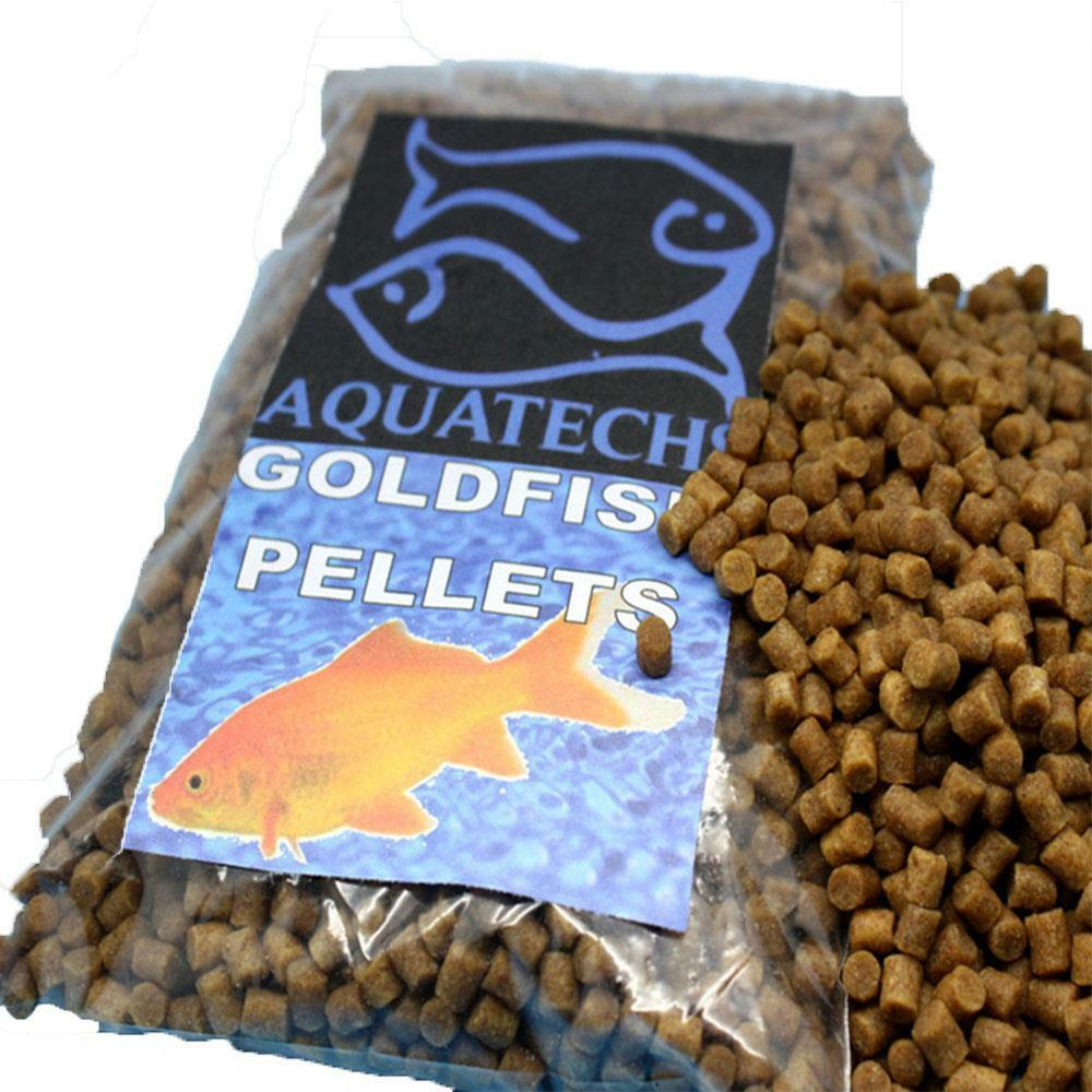100g Goldfish pellets complete gold fish food high grade fish feed 2mm sinking