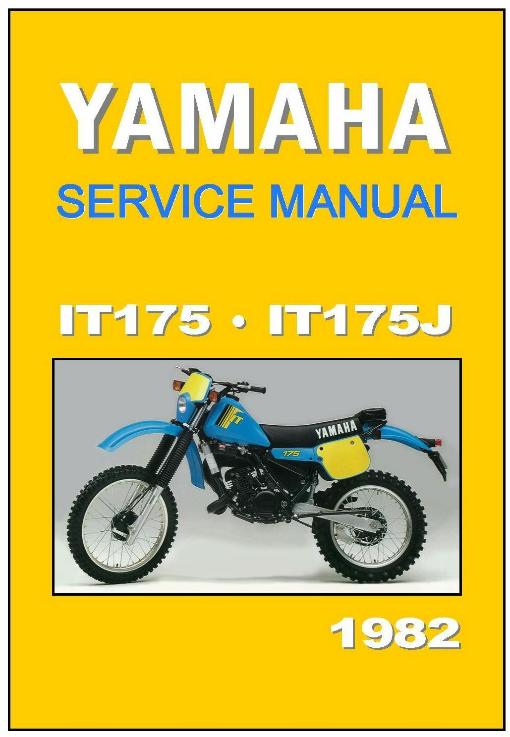 100 1992 Yamaha Dt200 Manual – It175 Wiring Diagram