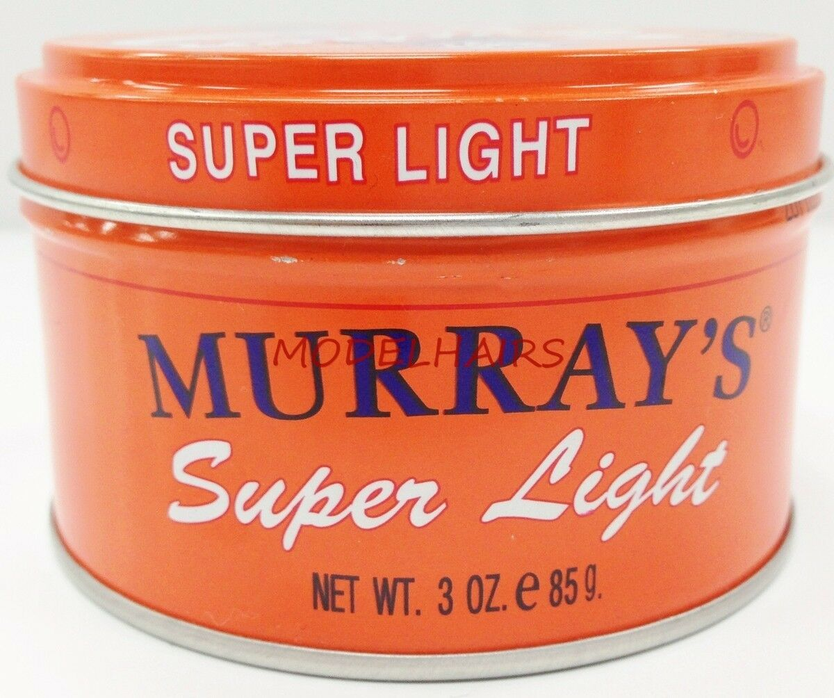 Murrays Super Light Pomade For Clean Neat Look Style Shine 3oz Murray Edgewax Extreme Hold 1 Of 2only 4 Available