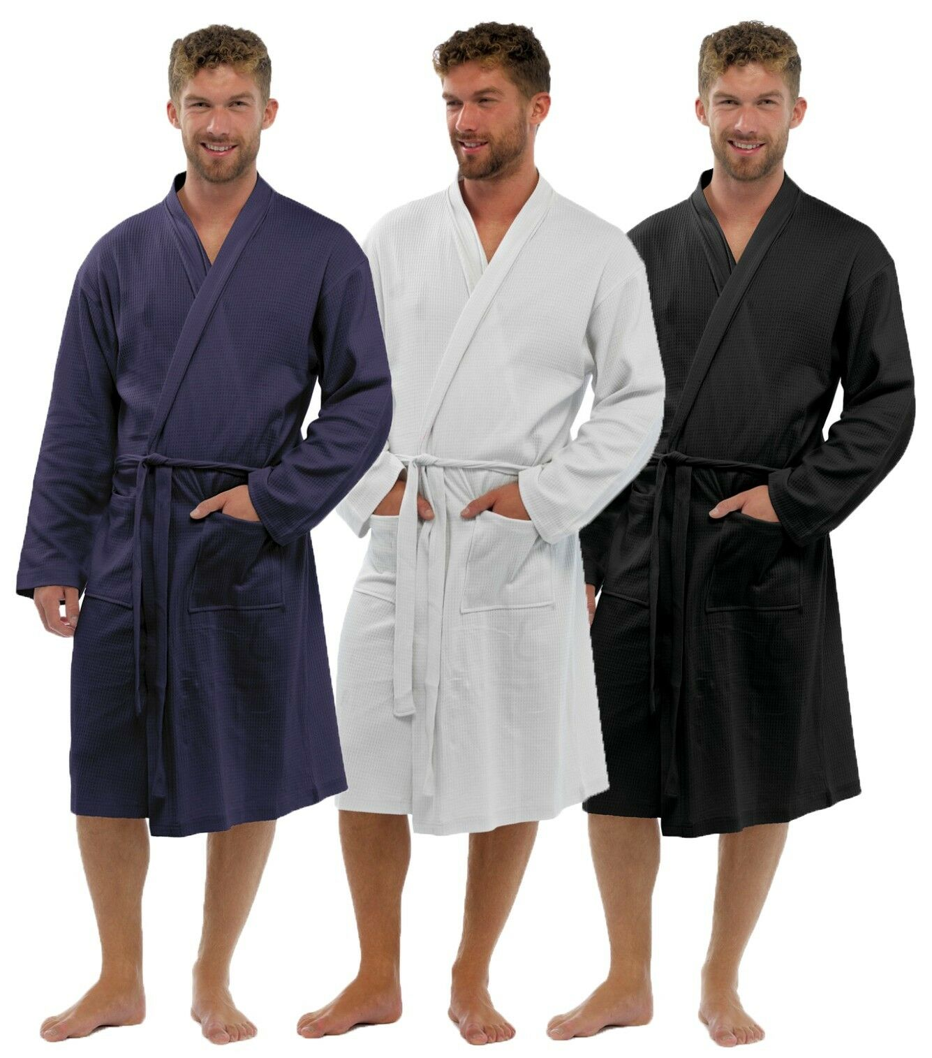 f811231596e Mens Lightweight Dressing Gown Robe Lounge Wear 1 of 2 ...