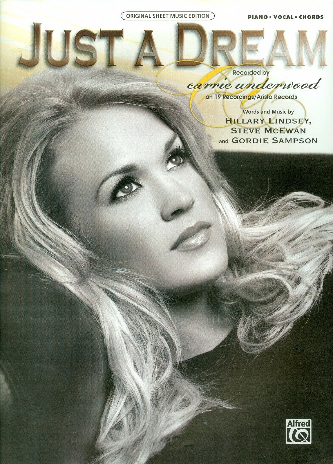 Carrie Underwood Just A Dream Piano Vocal Guitar Sheet Music Hillary
