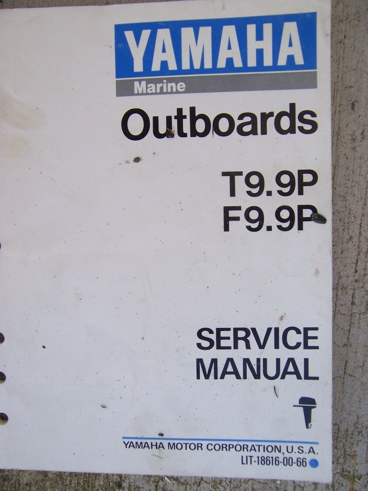 1991 Yamaha Outboard Motor T9.9P F9.9P Service Manual MORE BOAT ITEMS IN 1  of 1Only 1 available ...