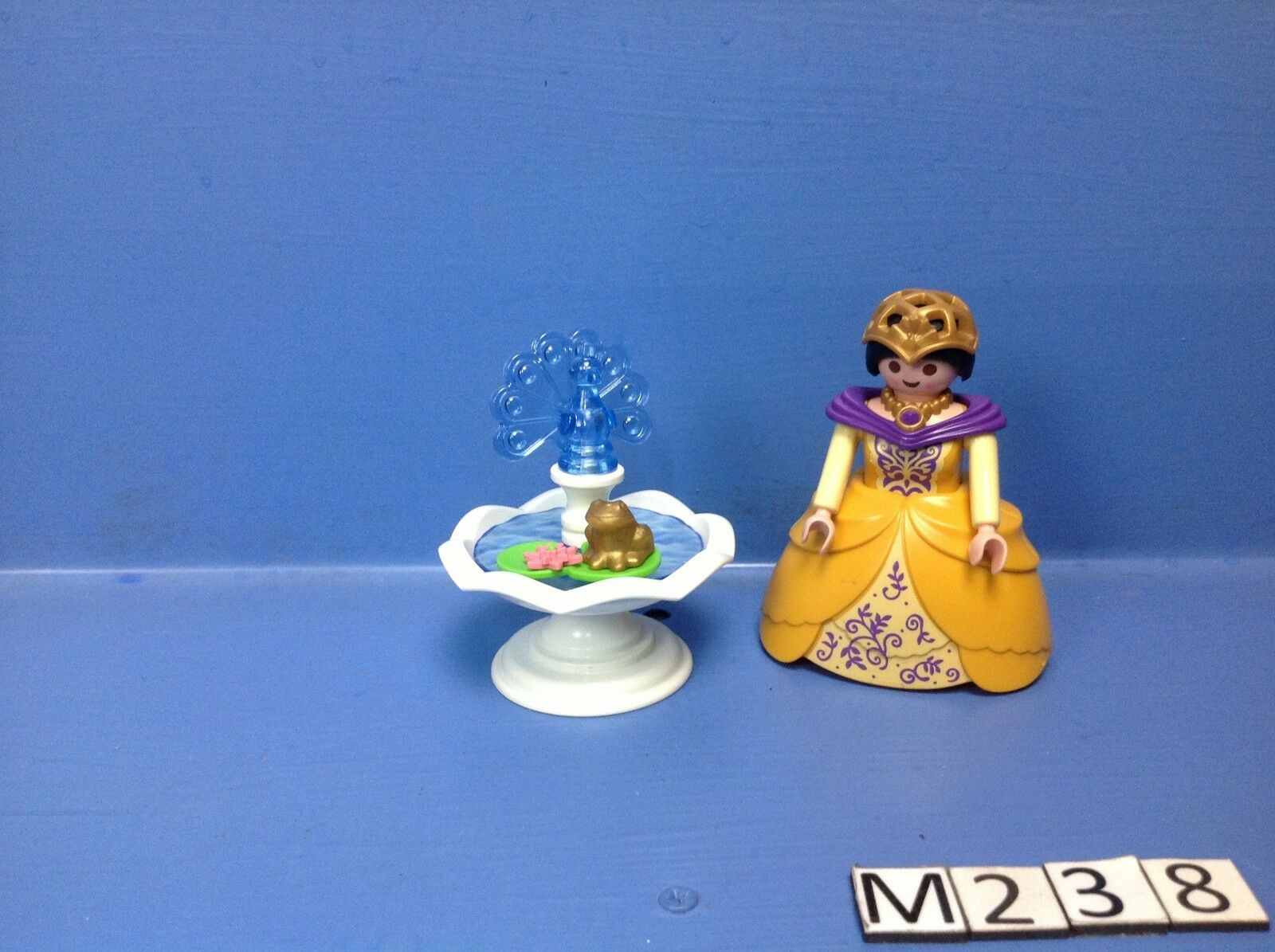 M238 playmobil princesse jaune et la fontaine magique for Playmobil princesse 5142