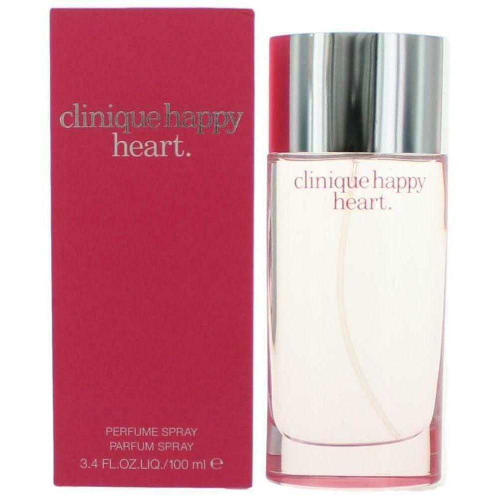 Happy Heart Clinique Women 34 Oz 33 Edp Perfume Spray New In Box For 1 Of 1free Shipping