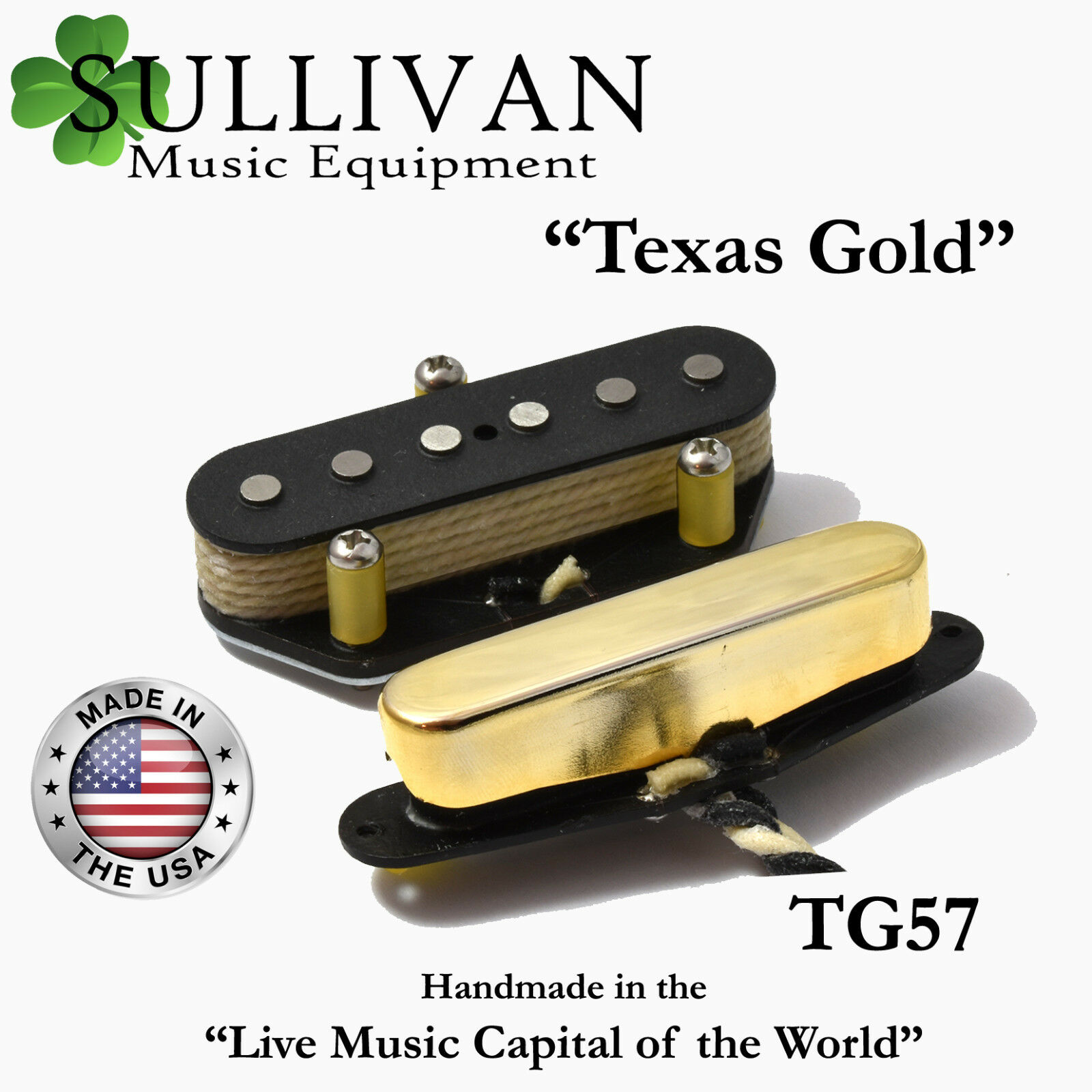 Custom Shop Telecaster Pickup Set Sme Texas Gold Special Hand Wound Sale On Fender Pickups Wiring Tele Tg57 1 Of 1only 0 Available