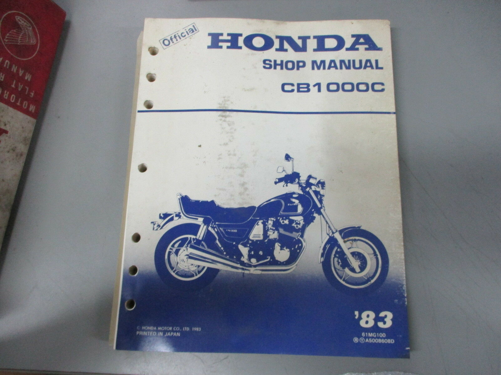 Honda OEM Shop Service Manual 1983 CB1000C CB1000 CB 1000 C 1 of 3Only 2  available See More