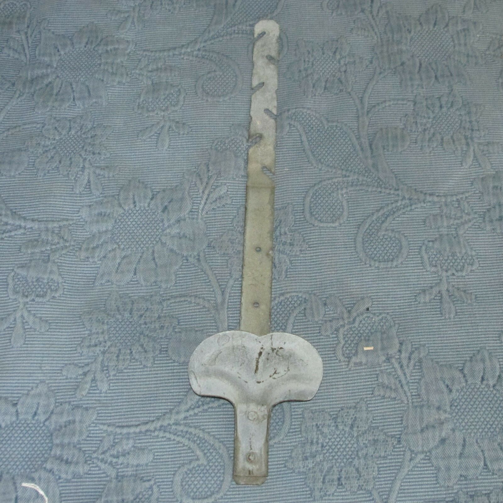 Vintage Zinc or Galvanized Metal Snowbird Roof Hardware