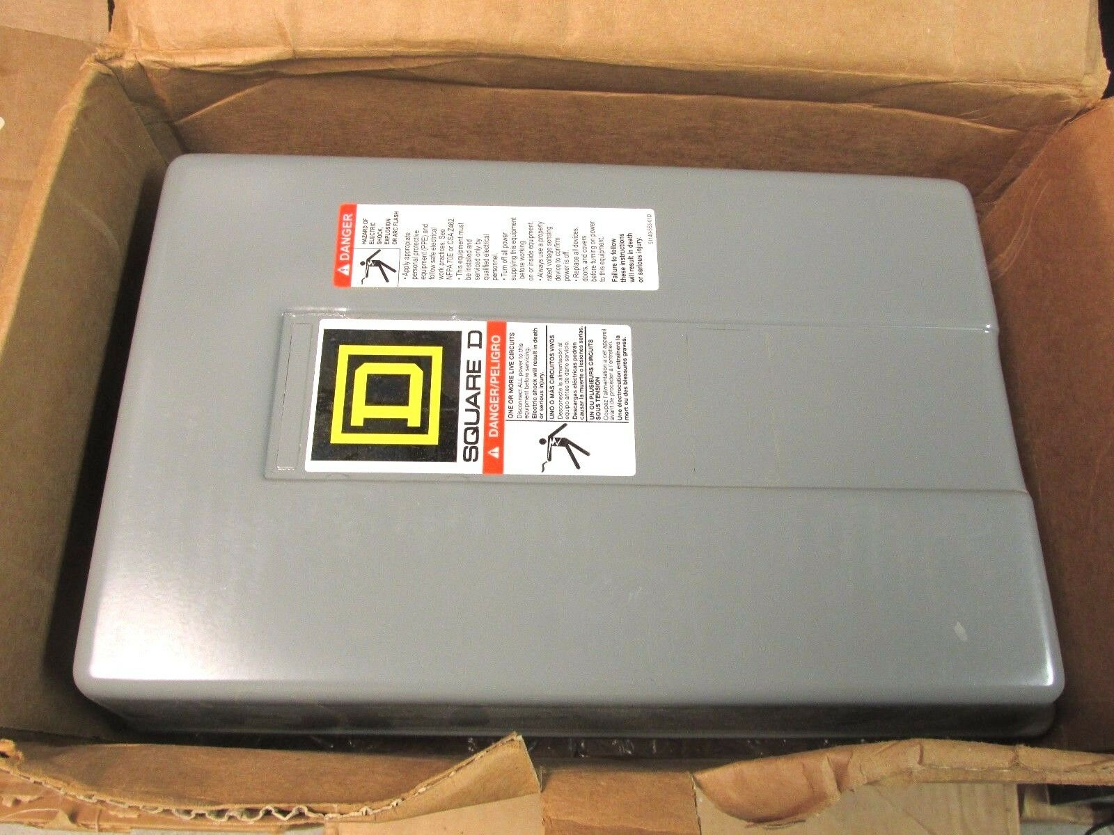 Nib Square D Mh Lighting Contactor 110 120v Coil Cat Wiring Diagram For 8903lxg33v02