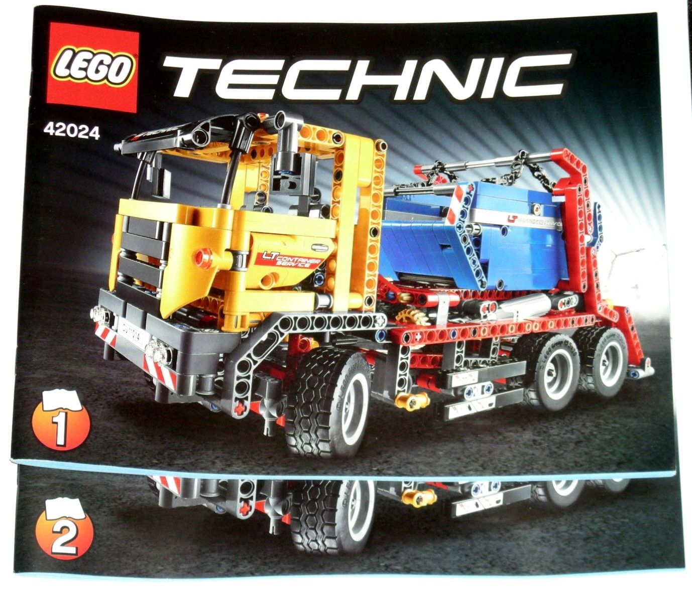 Lego Technic Container Truck Original Instructions Only 42024