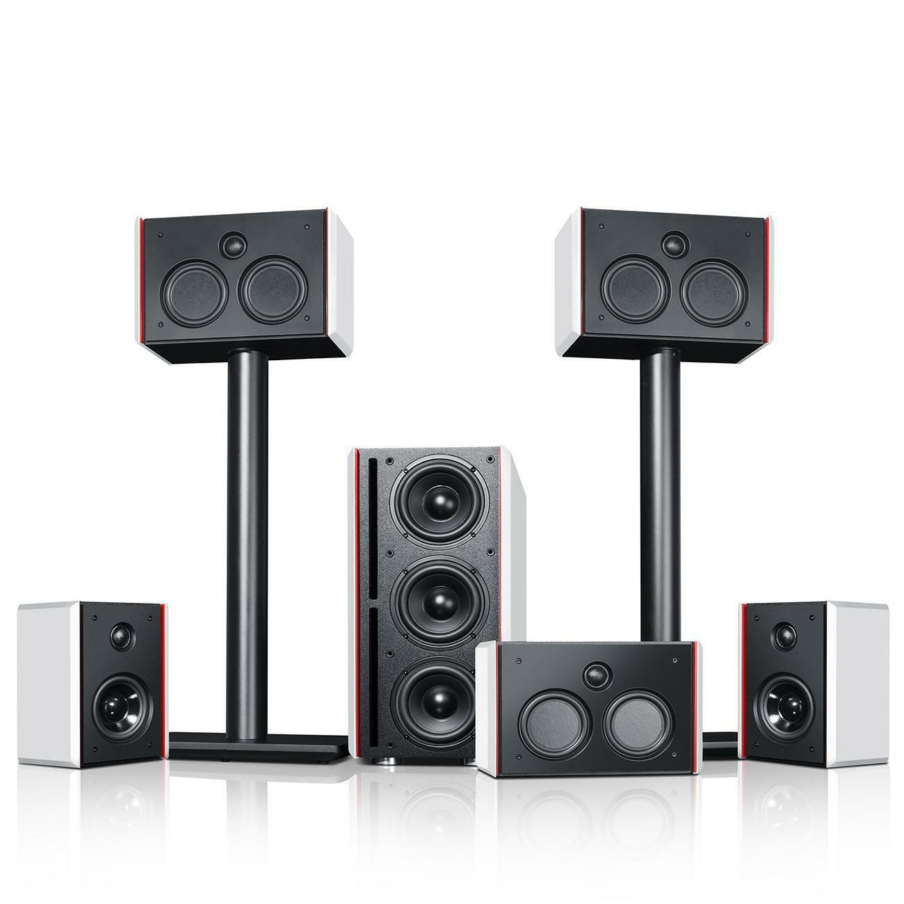 how to set 5.1 surround system