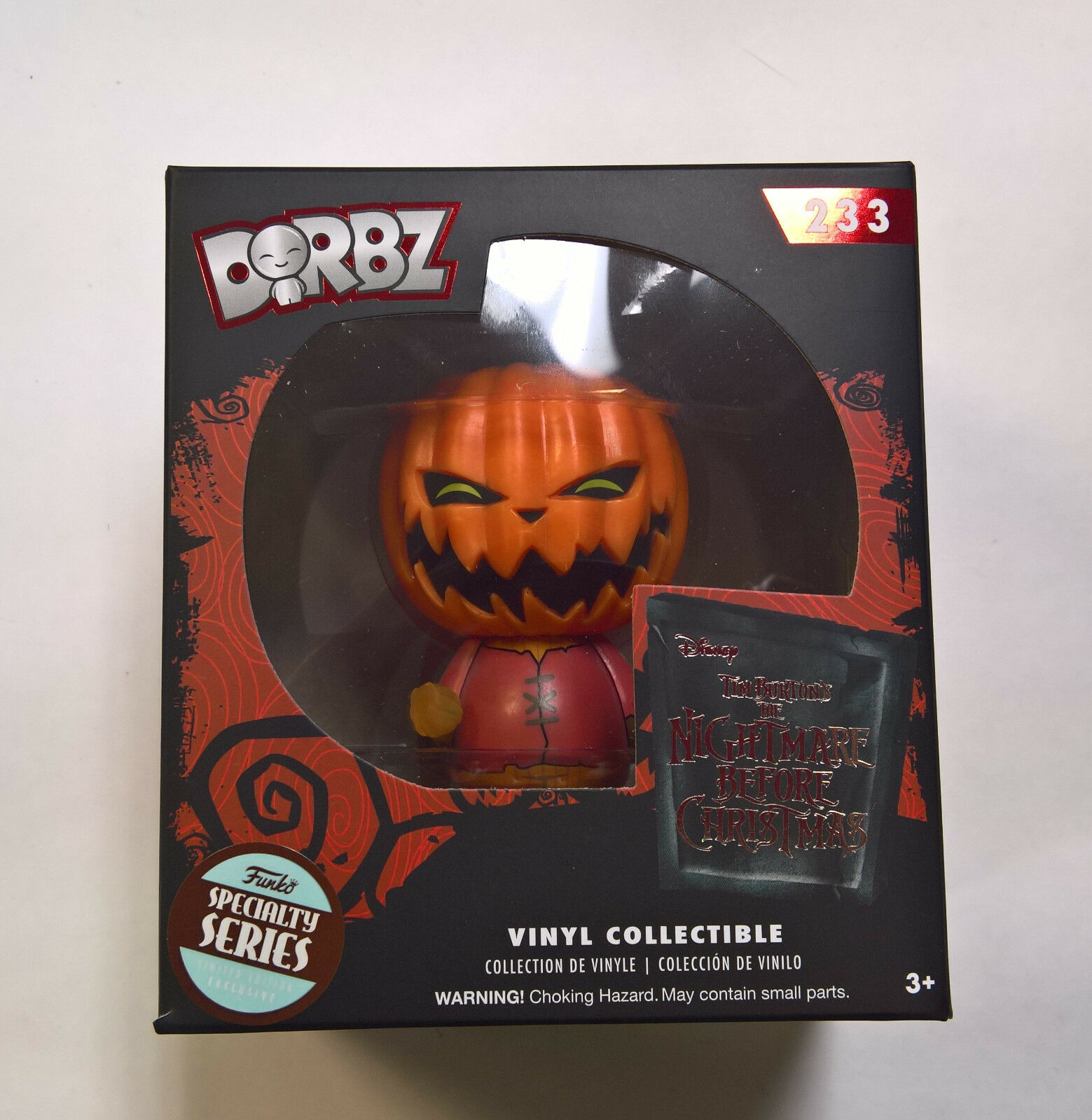 FUNKO DORBZ THE Nightmare Before Christmas Pumpkin King 233 ...