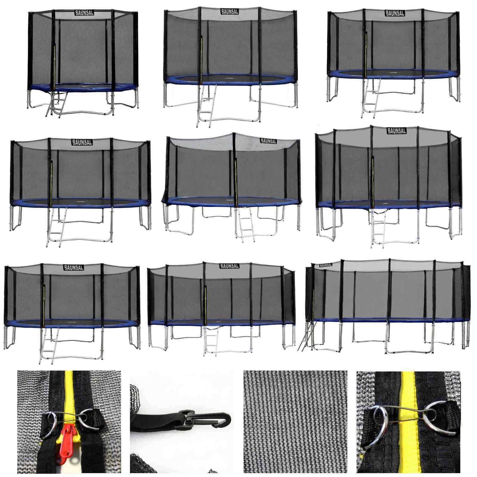 sicherheitsnetz fangnetz schutznetz netz f r trampolin von 183 bis 490 cm eur 24 99 picclick it. Black Bedroom Furniture Sets. Home Design Ideas