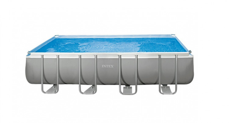 Piscina con telaio 549x274x132 intex ultra frame pompa a - Piscina intex 549x274x132 ...
