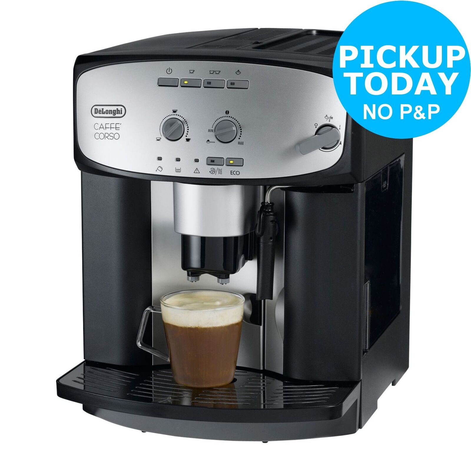 delonghi esam2800 cafe corso bean to cup coffee machine black from argos picclick uk. Black Bedroom Furniture Sets. Home Design Ideas