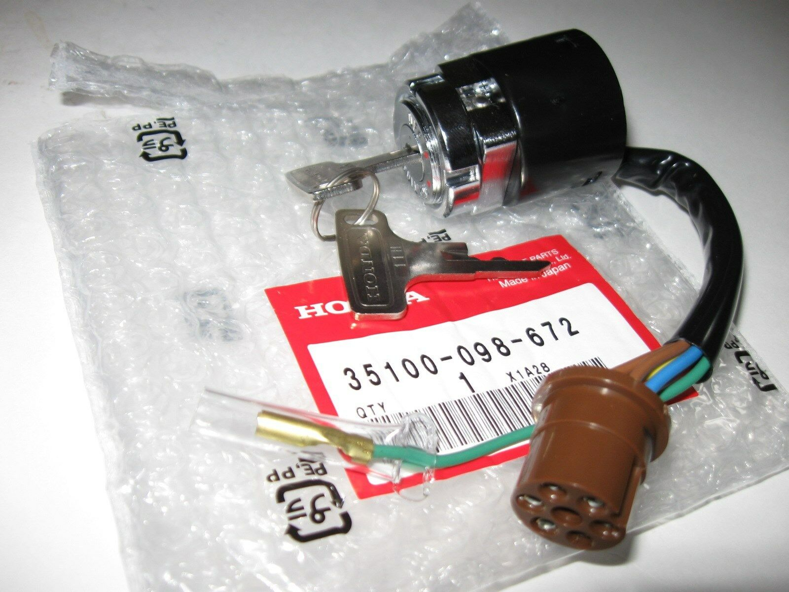 Honda Ct70 K0 Ignition Switch 1969 1971 New Oem 6595 Picclick 1970 Points 1 Of 2only 0 Available