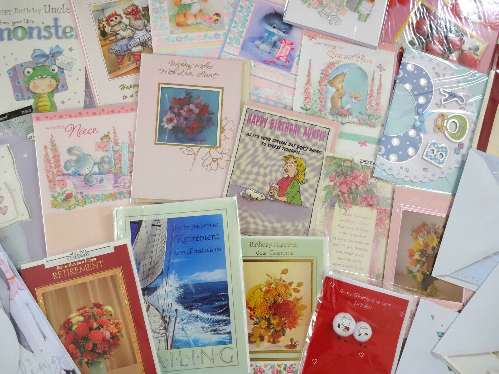 200 Greeting Cards High Quality Wholesale Mixed Bundle Birthdays No