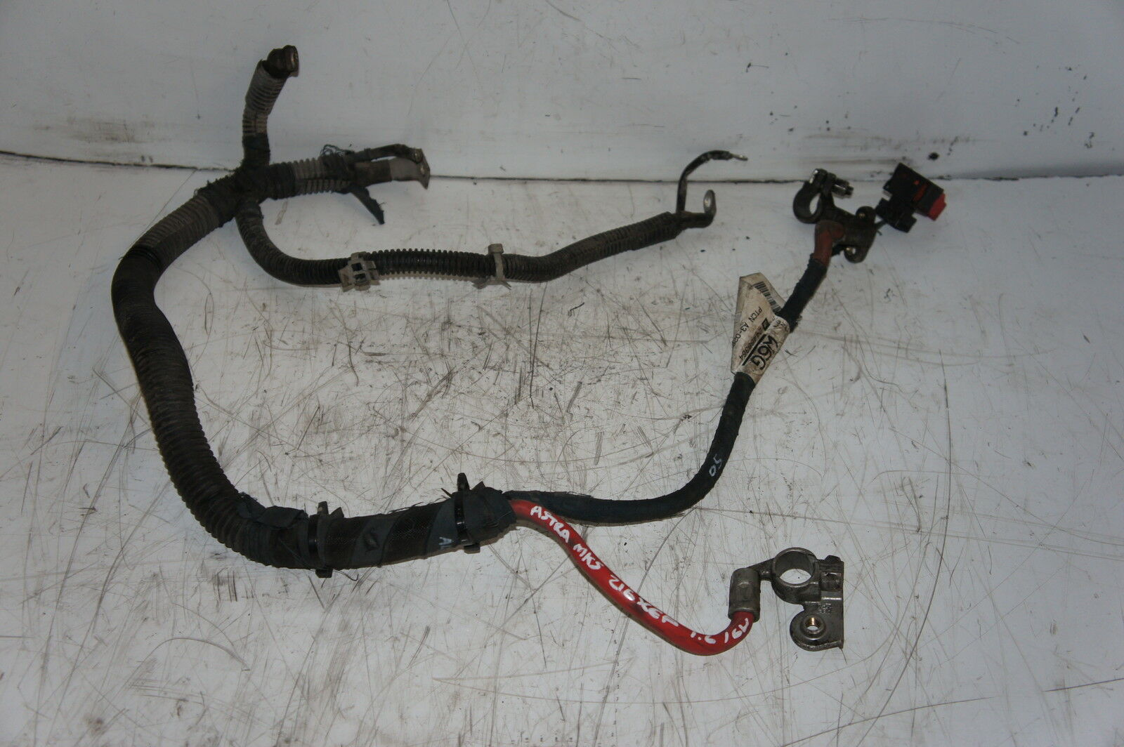 Vauxhall Astra Mk5 16 Z16xep Automatic Battery Starter Wiring Loom Gm 24468364