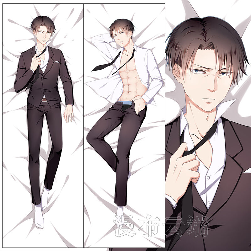 Anime Attack on Titan Levi/Rivaille Dakimakura Pillow Case ...