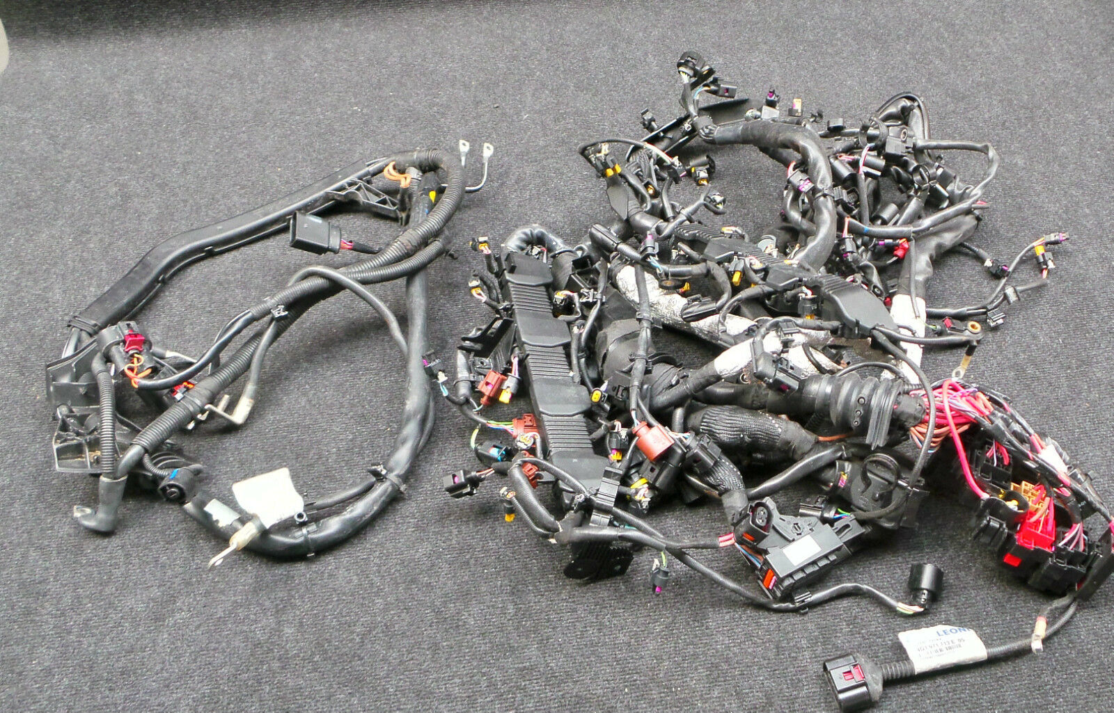 Audi S6 4g S7 Engine Wiring Harness Cable Ceuc 4g1971228 A 1 Of 9only Available