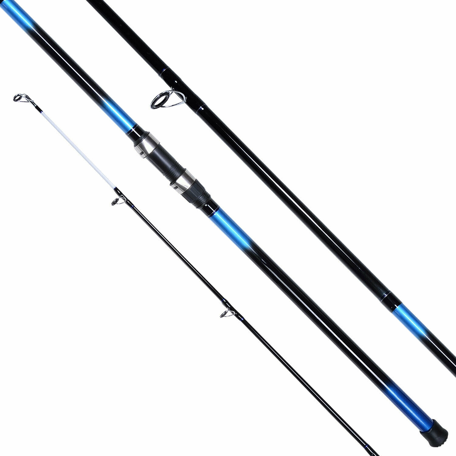 New shakespeare beta beachcaster 12ft sea fishing rod 3 for 3 piece fishing rod