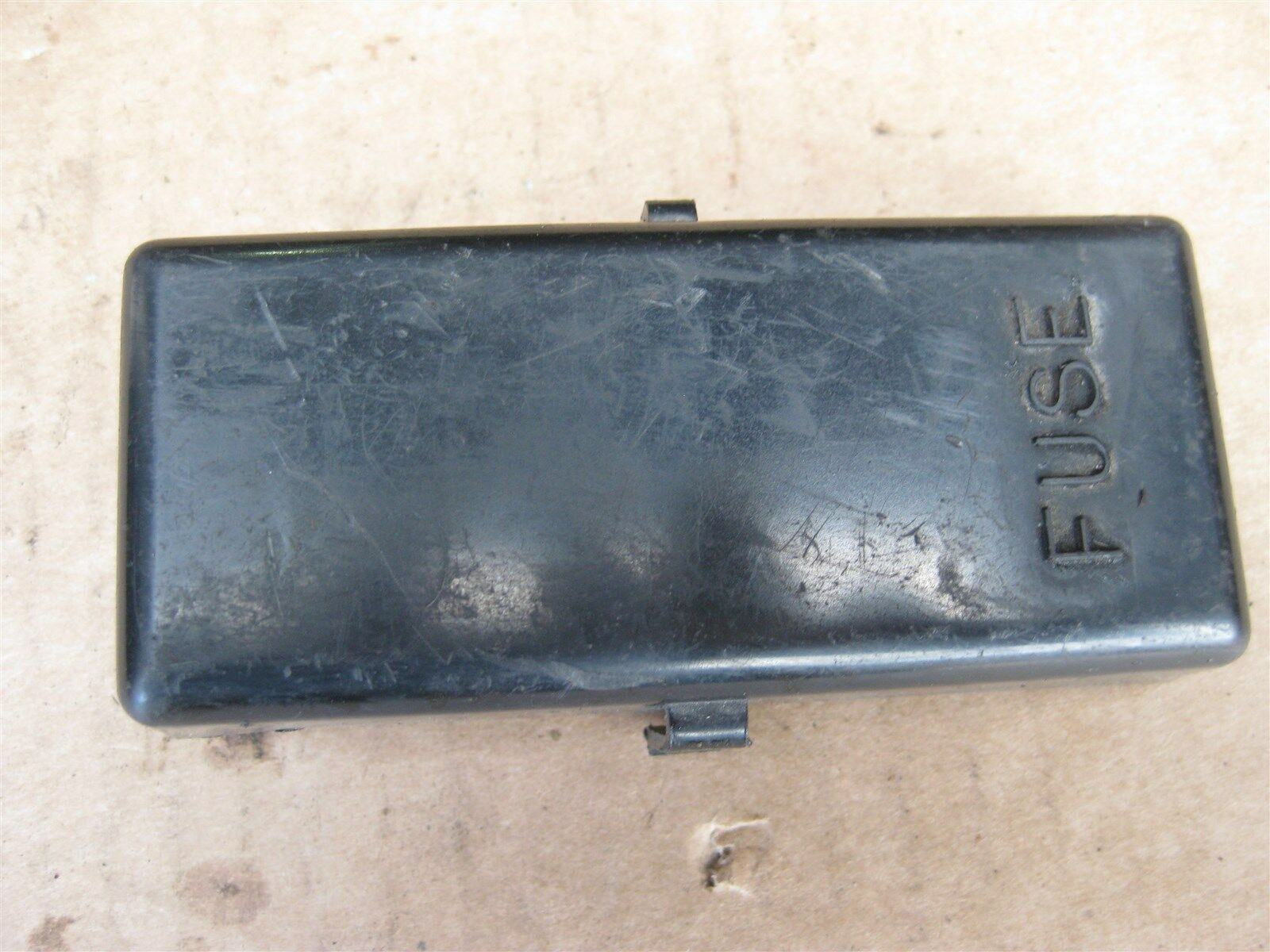Honda Gl1200 Gl 1200 Goldwing Aspencade Fuse Box Cover Lid 1 of 4Only 1  available ...