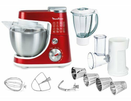 Moulinex Qa404g Masterchef Gourmet Plus Red Ruby Universal