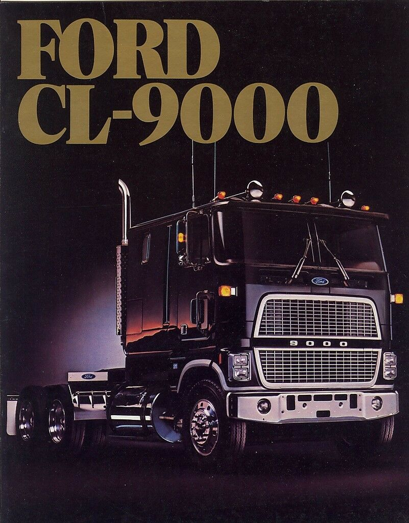 1986 ford cl9000 cl 9000 big trucks wiring diagrams
