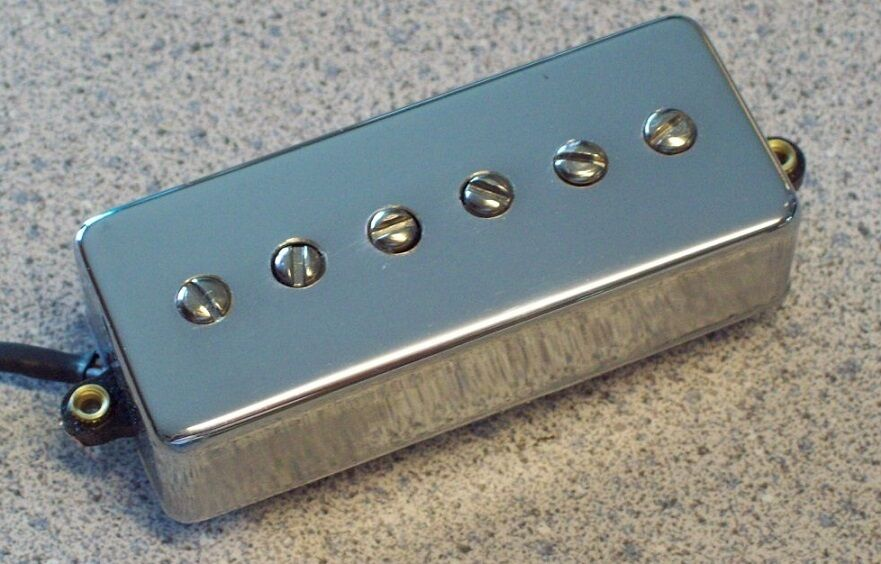 MINI HUMBUCKER SIZE P-90 single coil pickup for electric guitar by ...