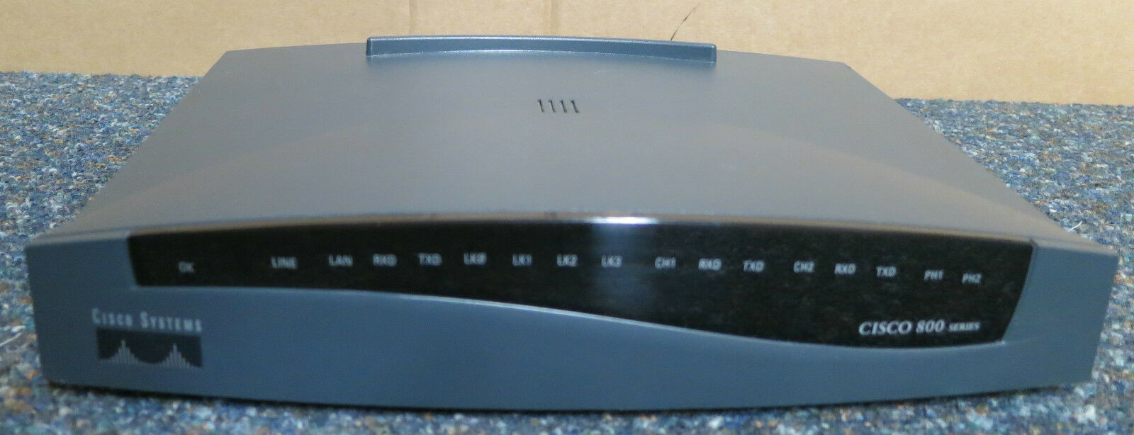CISCO 800 SERIES 803 Router - ISDN / Console / Ethernet Wired Router ...