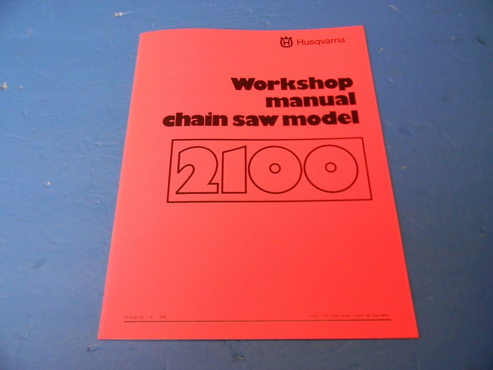 ... Array - workshop service manual new for husqvarna 2100 chainsaw rh  picclick com