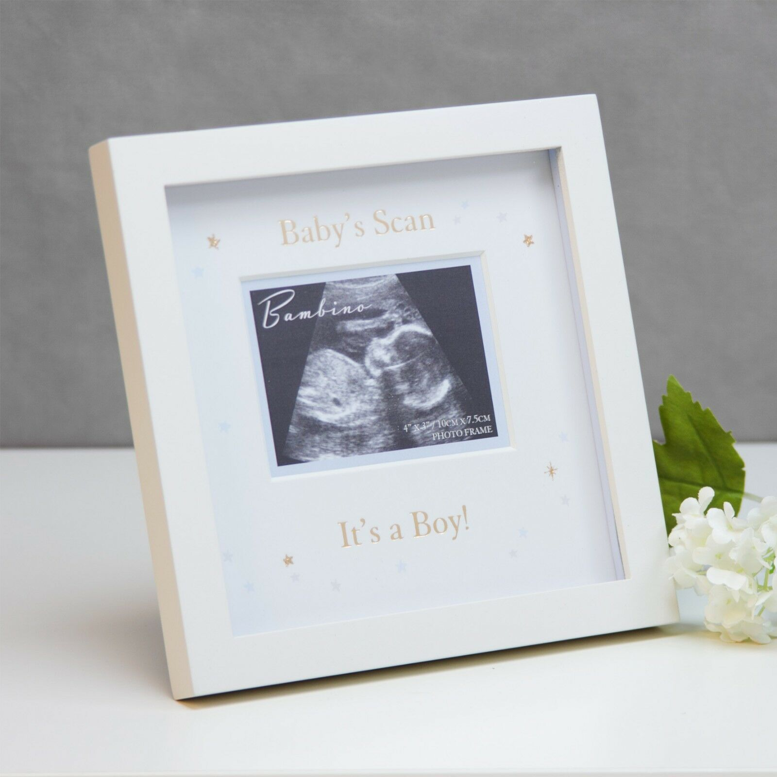BABY SCAN SONOGRAM Frame Boy or Girl New Parents Mummy Daddy to be ...