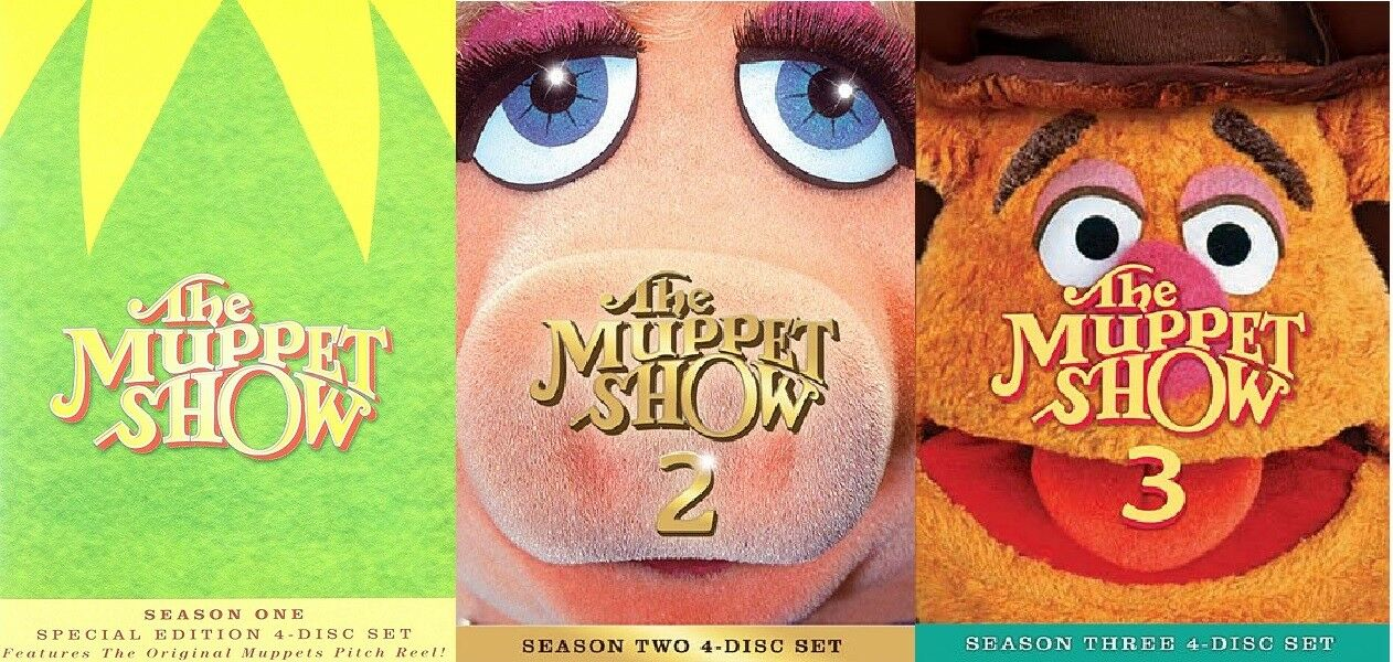 THE MUPPET SHOW Complete Seasons 1-3 DVD Bundle BRAND NEW Free Ship ...