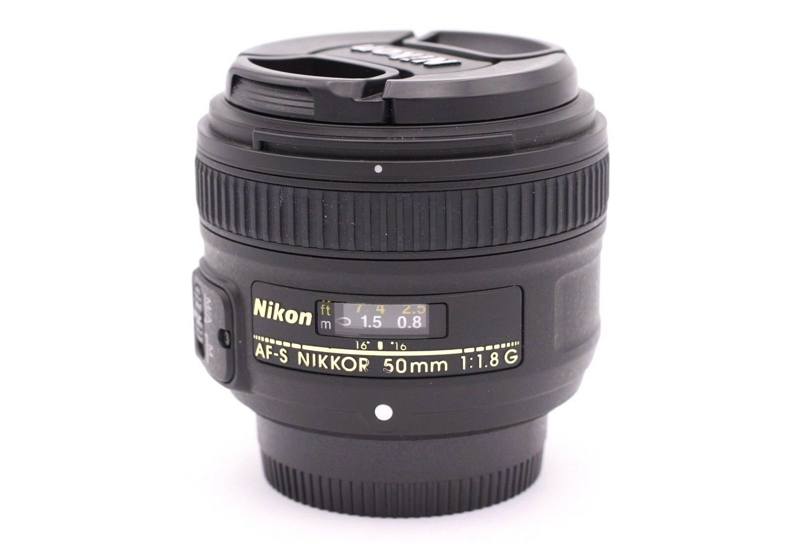 Nikon 50mm F 18g Af S Nikkor Lens For Dslr Cameras 20986 Where To Get Parts Diagram A D5000 Slr With Dx Vr Afs 1 Of 4only Available